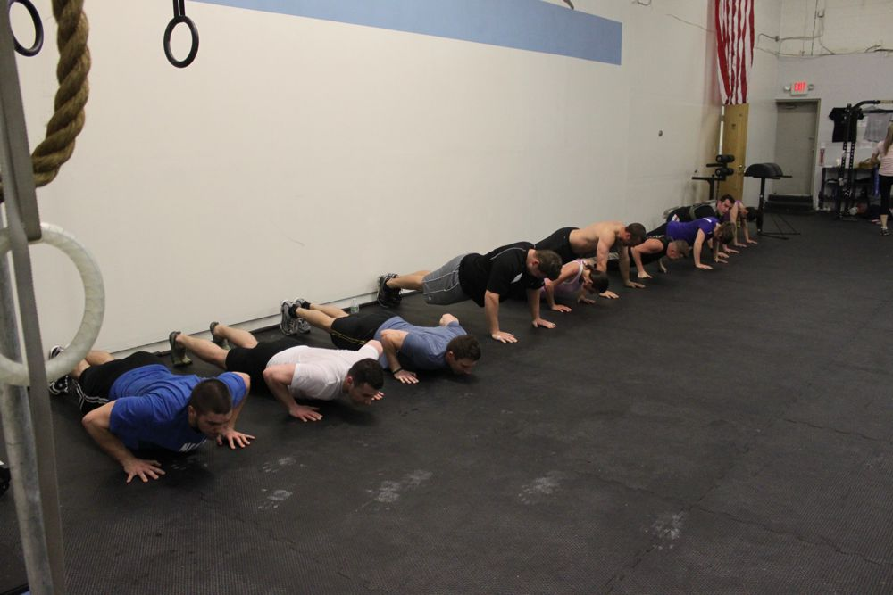Push up central