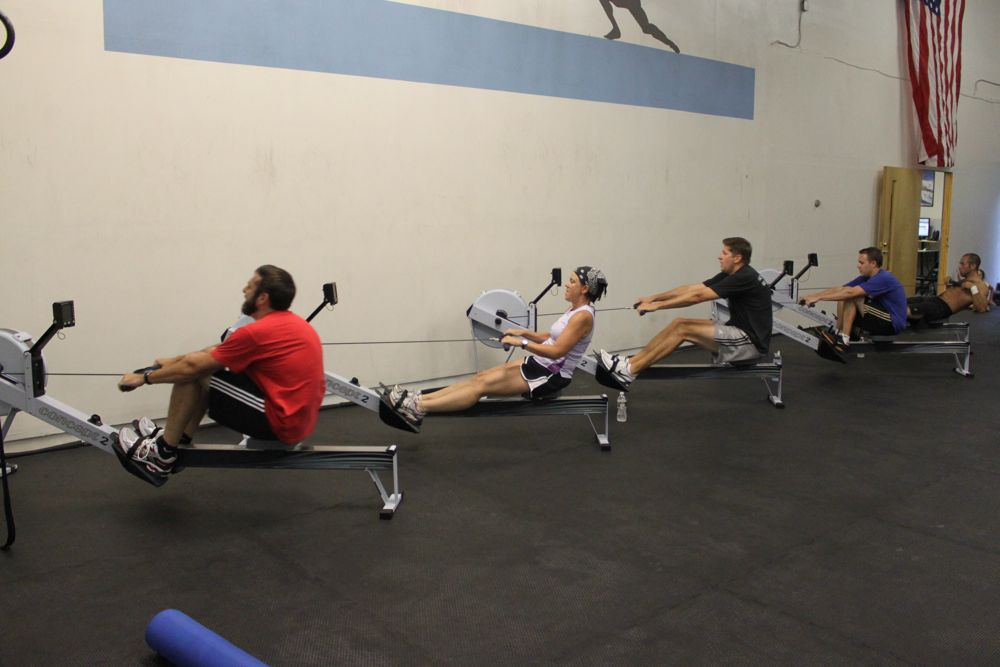 A little rowing session