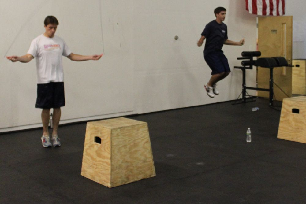 Double Unders - J Bell in the house