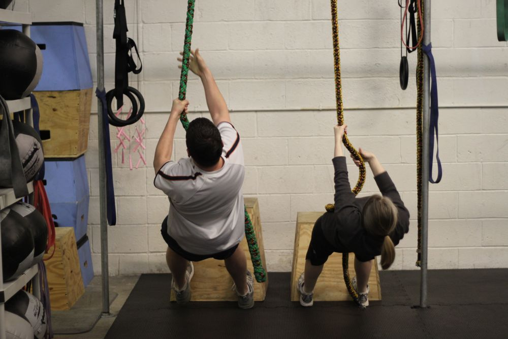 Couples Rope Climbs